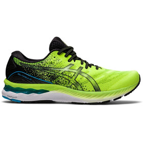 asics Gel-Nimbus 23 Shoes Men, hazard green/black